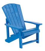 Kids Adirondack: blue