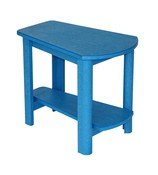 Addy Side Table : Blue