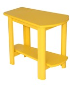 Addy Side Table : Yellow
