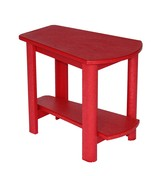 Addy Side Table : Red