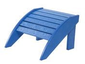 Footstool: Blue