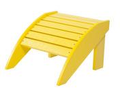Footstool: Yellow