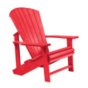 Adirondack Chair : Red