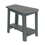 Addy Side Table : Slate Grey