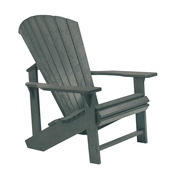Adirondack Chair: Slate Grey