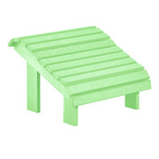 Premium Footstool: Lime Green