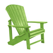 Adirondack Chair : Kiwi Green