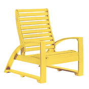 St. Tropez Lounge Chair : Yellow
