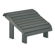 Premium Footstool: Slate Grey