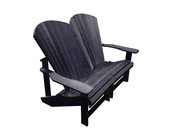 Generations Addy Love Seat: Black
