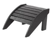 Footstool: Black