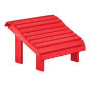 Premium Footstool: Red