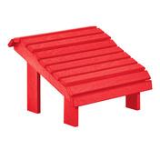 Premium Footstool: Red