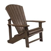 Adirondack Chair : Chocolate