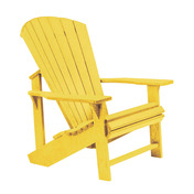 Adirondack Chair : Yellow
