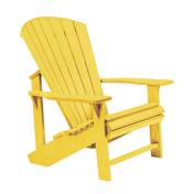 Adirondack Chair : Yellow