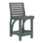 St. Tropez Counter Chair : Slate Grey