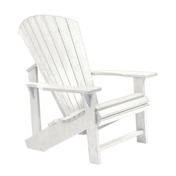 Adirondack Chair : White