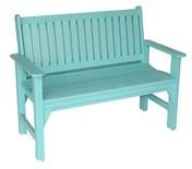Garden Bench : Aqua