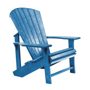 Adirondack Chair : Blue