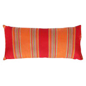 Lumbar Pillow: Salsa Stripe