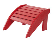 Footstool: Red