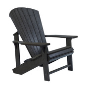 Adirondack Chair : Black