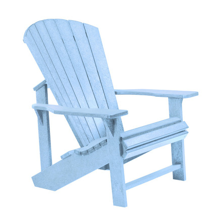 adirondack chair sky blue cr plastic products us
