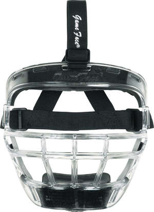 Game Face Sports Safety Mask Clear - Large picture